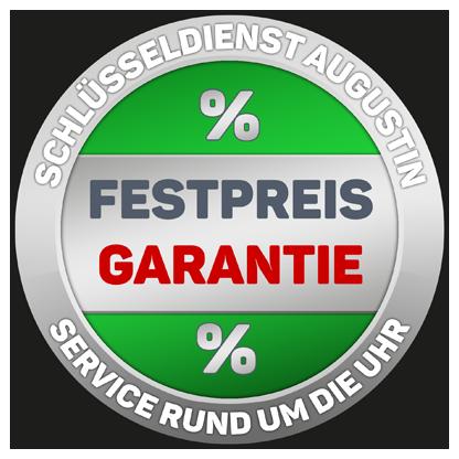 Festpreisgarantie Siegel vom Schlüsseldienst Lübeck