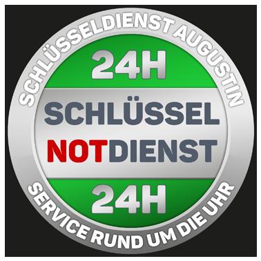 Schlüsseldienst 24h Service-Siegel